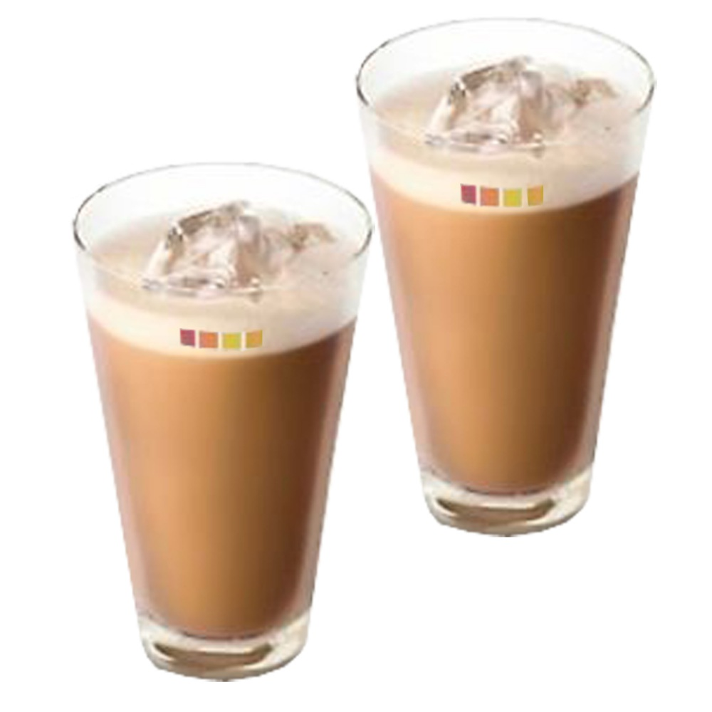 Set of 2 nescaf dolce gusto ice cappuccino coffee cup for Drinks with iced tea