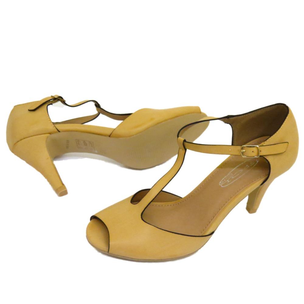 Nude Low Heel Shoes