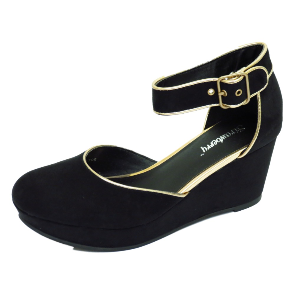 Take a look at our wedges, and over styles to choose from; from the head-scratching looks of the anti-gravity wedges to the kinky and stylish faux leather look of wedge booties, or sneaker wedges there is a style for every purpose. Nude wedges and black wedges are the two most popular choices of wedge shoes for Women.