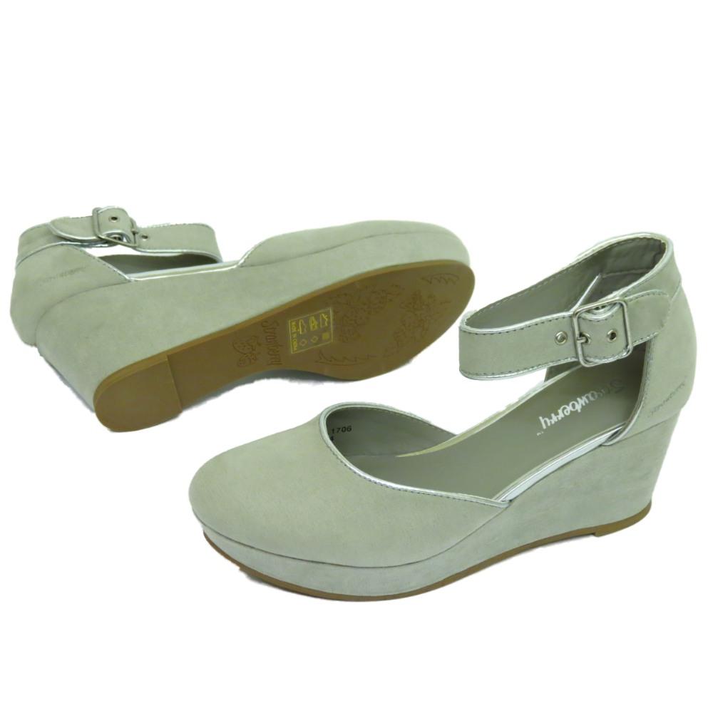 Grey Womens Platform Shoes