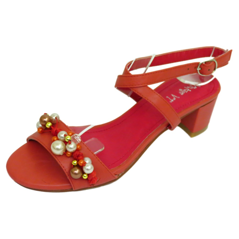 Women S Low Heel Coral Shoes