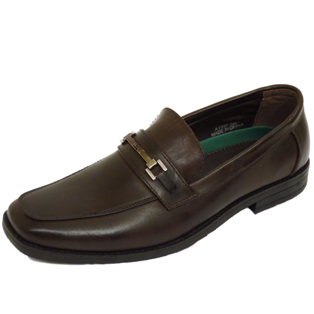 Para Hombre Marrón Slip-on trabajo Boda Smart Casual Moccasin Mocasines Zapatos Talla 7-12