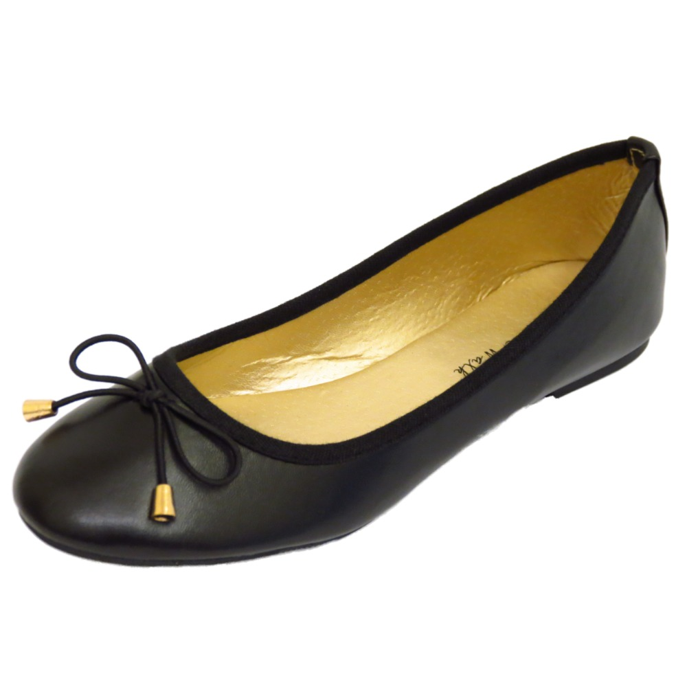 Black Ballet Flat Shoes Uk