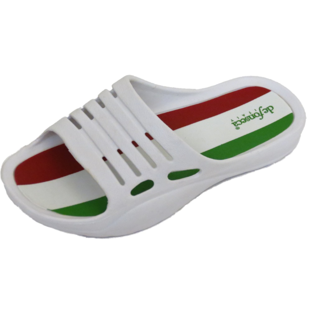 BOYS GIRLS KIDS WHITE SLIP-ON EVA SUMMER HOLIDAY CLOGS BEACH SHOES PUMPS UK 11-2