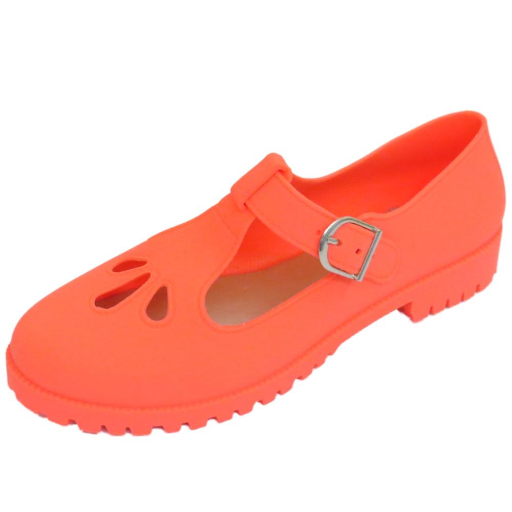 Para mujeres Sandalias De Playa Mar Coral plana Jelly Vacaciones de Verano Zapatos De Salón Uk 3-8