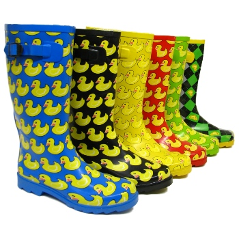 GREEN DUCK FESTIVAL WELLIES WELLINGTON BOOTS SIZE UK 5 Buy Online