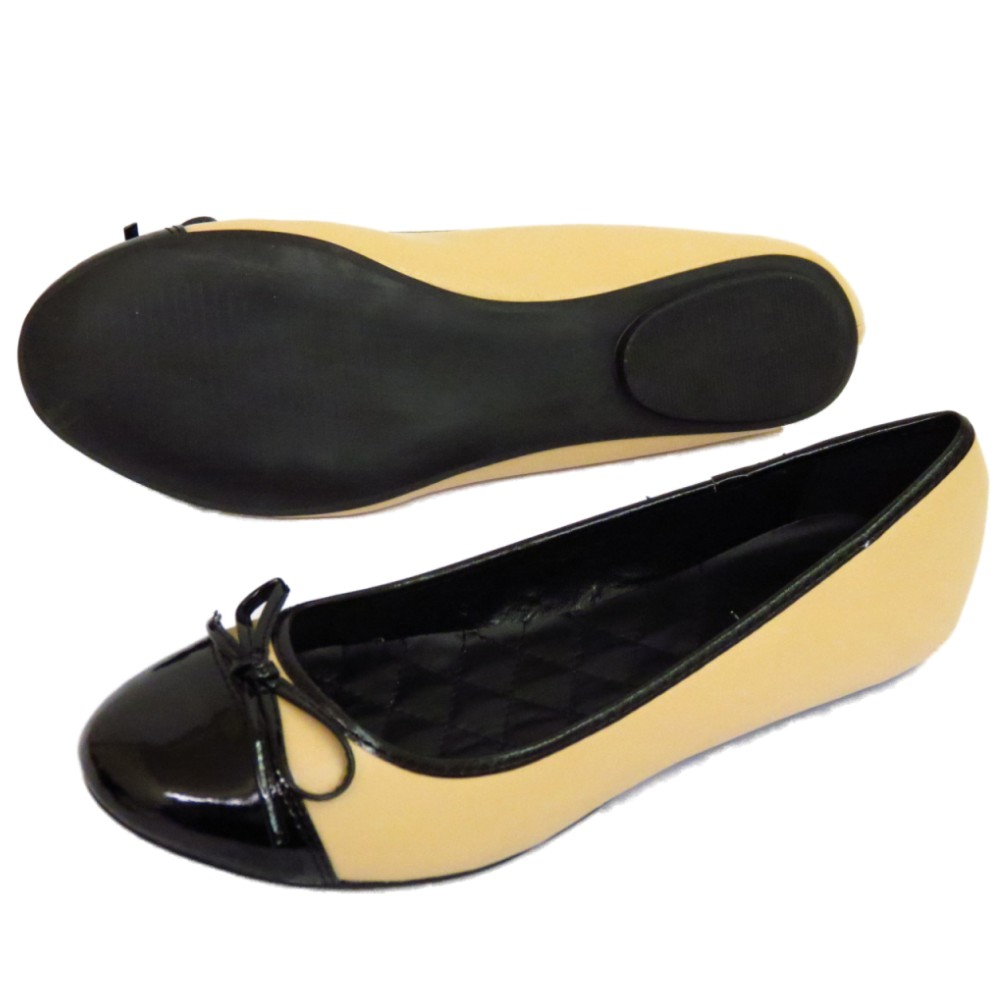 flat black slip on comfy work shoes dolly ballet