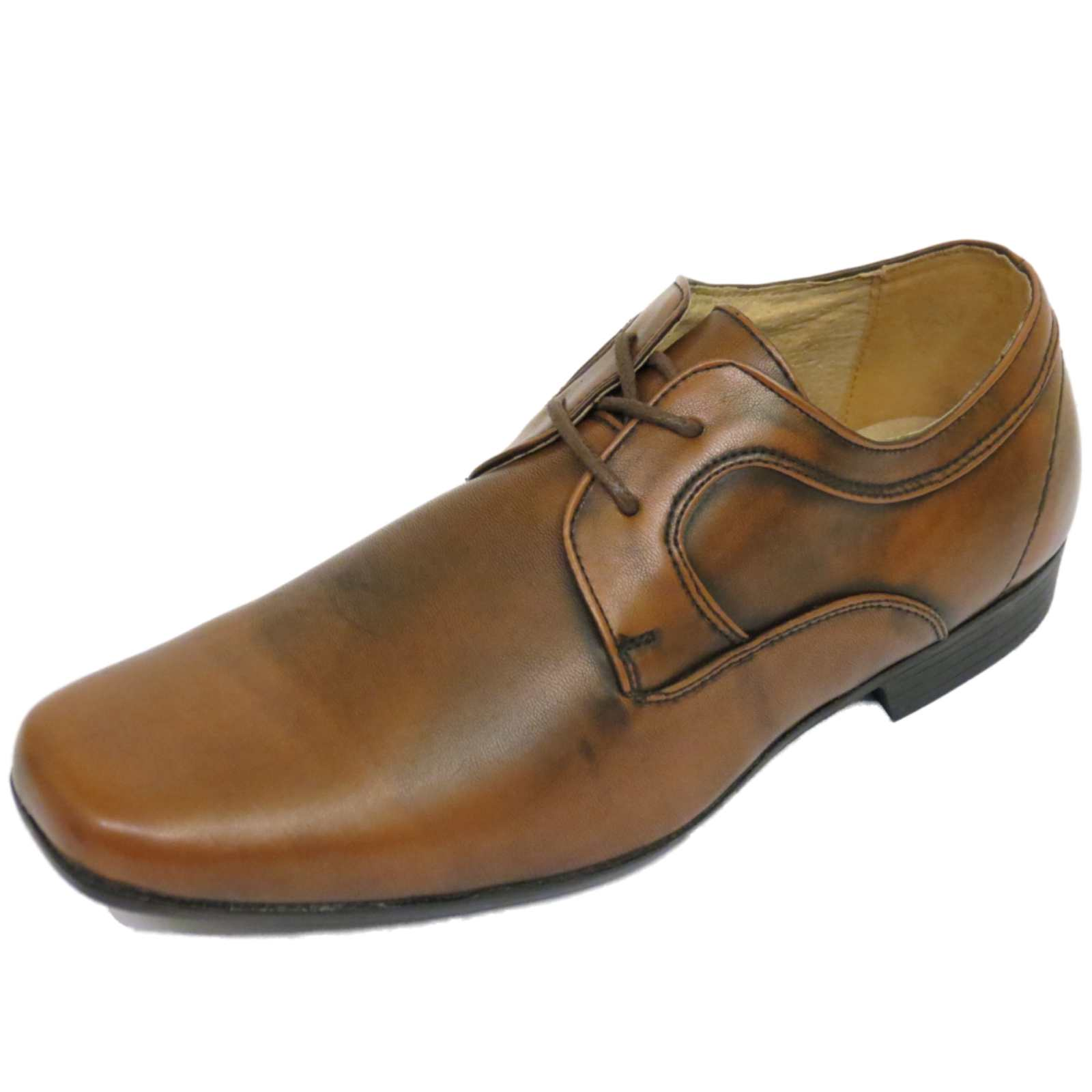 MENS BROWN LACE-UP WORK WEDDING SMART CASUAL LOAFERS WORK SHOES SIZES 7-15 | EBay