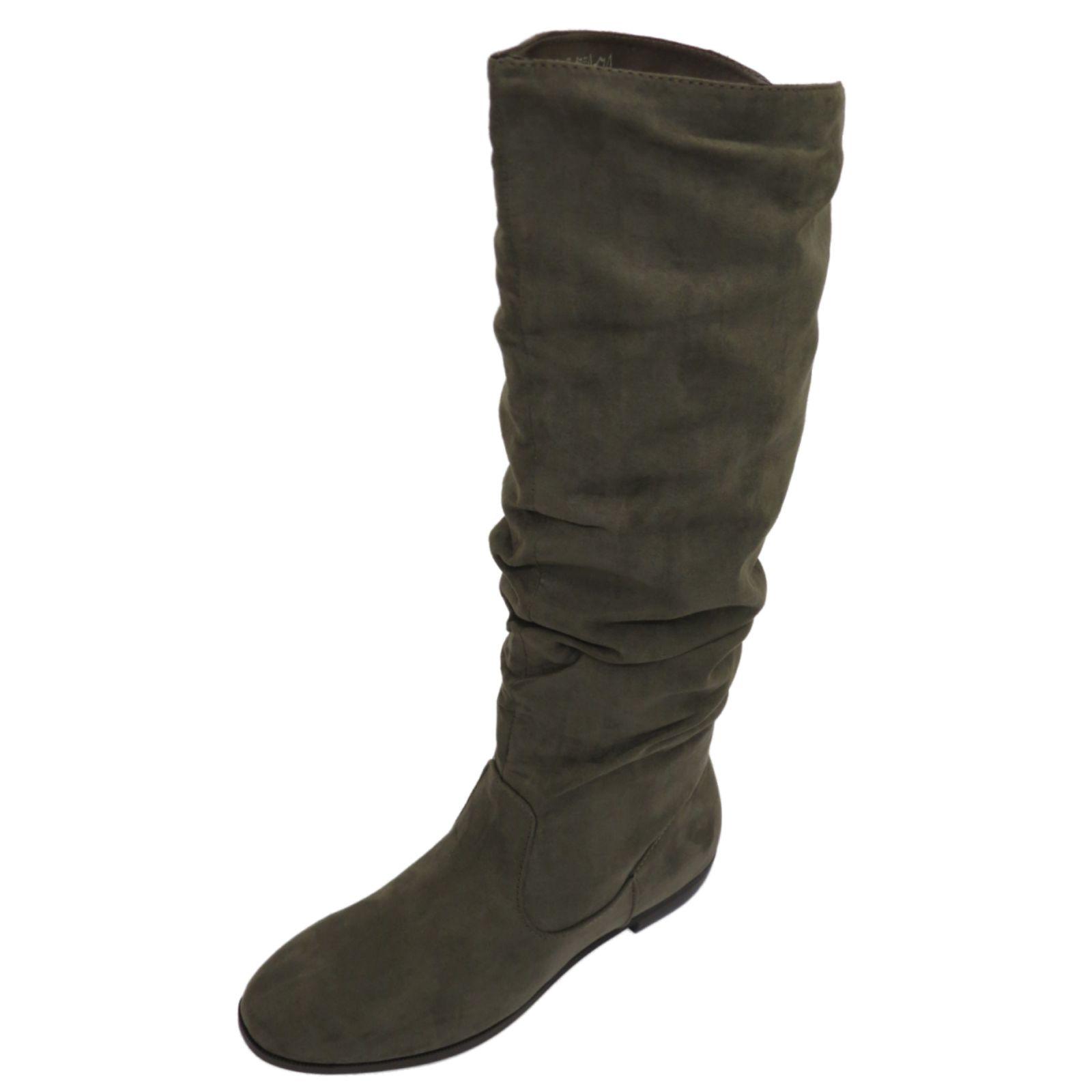 Ladies Grey Shoe Boots