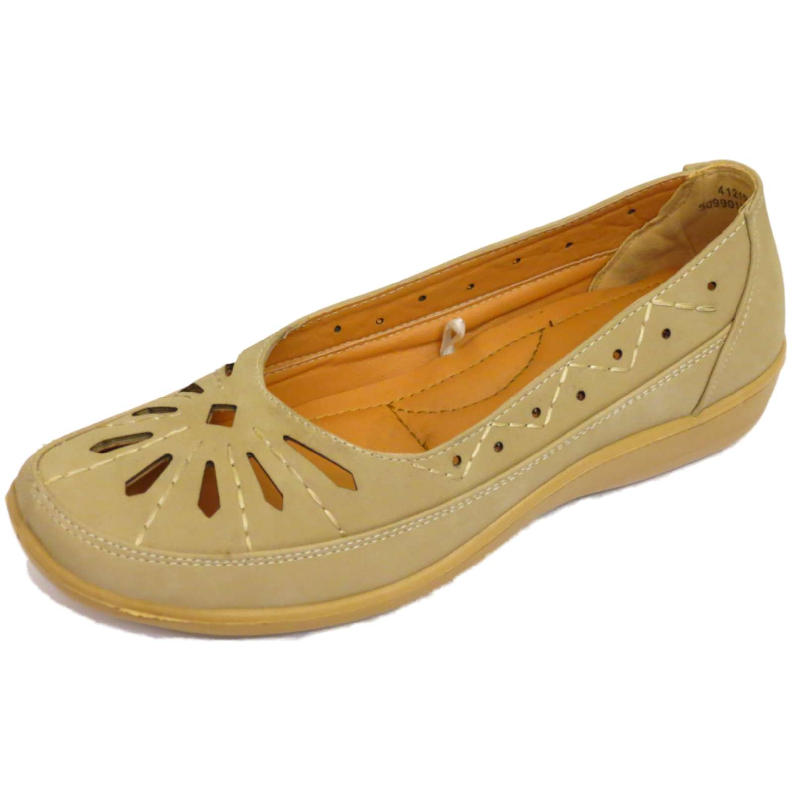 slip on pumps comfy moccasin casual low wedge