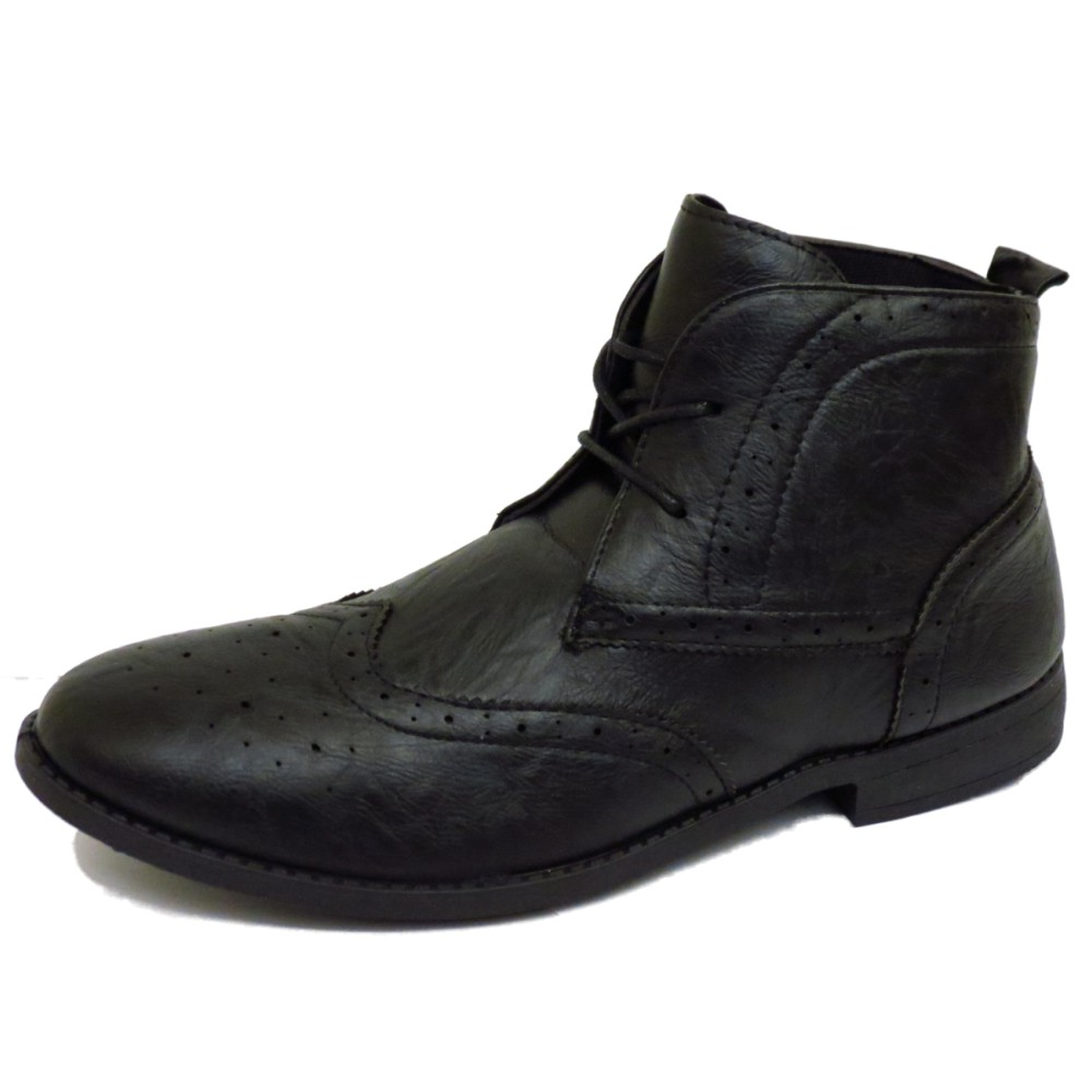 MENS-BLACK-LACE-UP-SMART-CASUAL-MILITARY-BROGUE-ANKLE-ARMY-BOOTS-SHOES-UK-6-11
