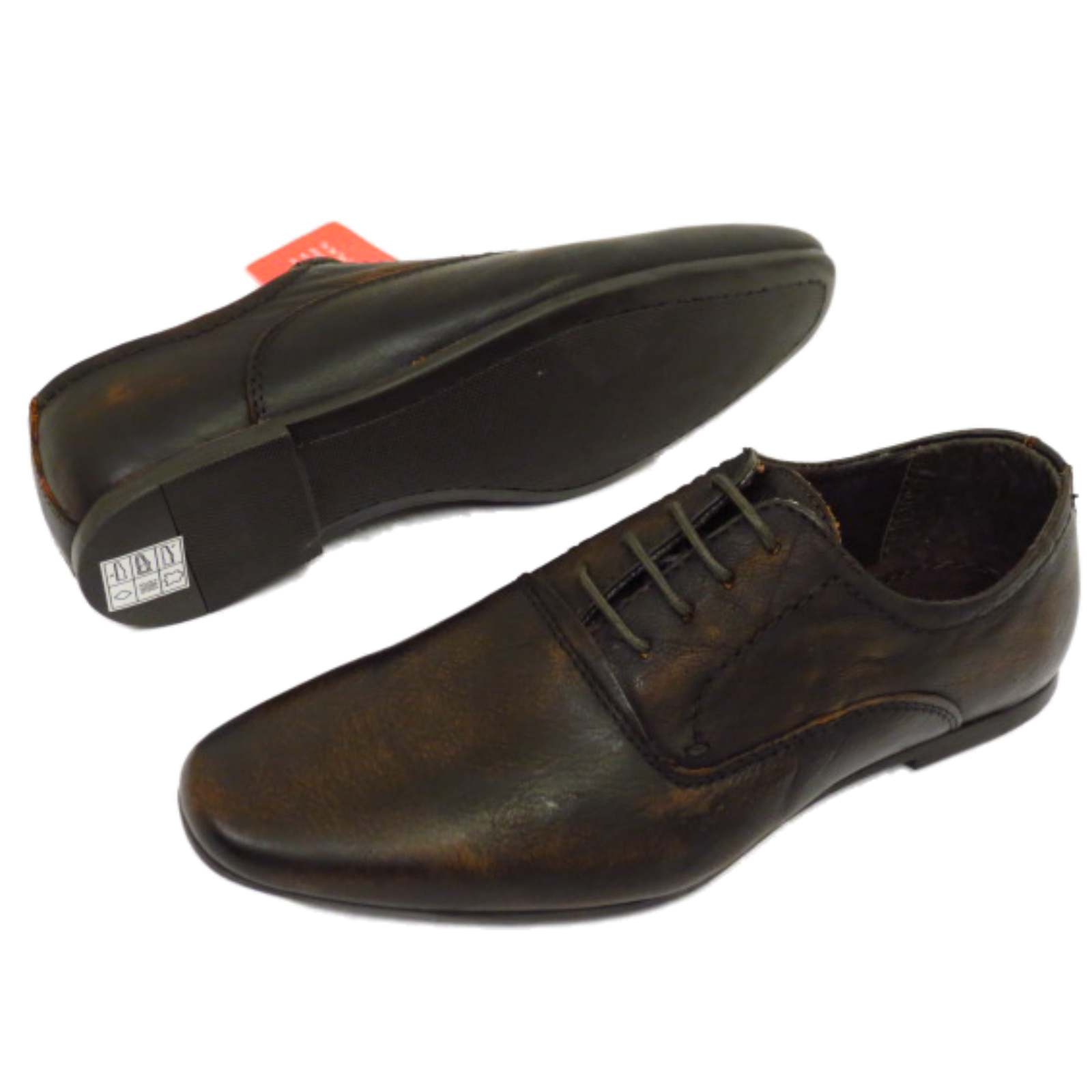 Childrens Brown Wedding Shoes