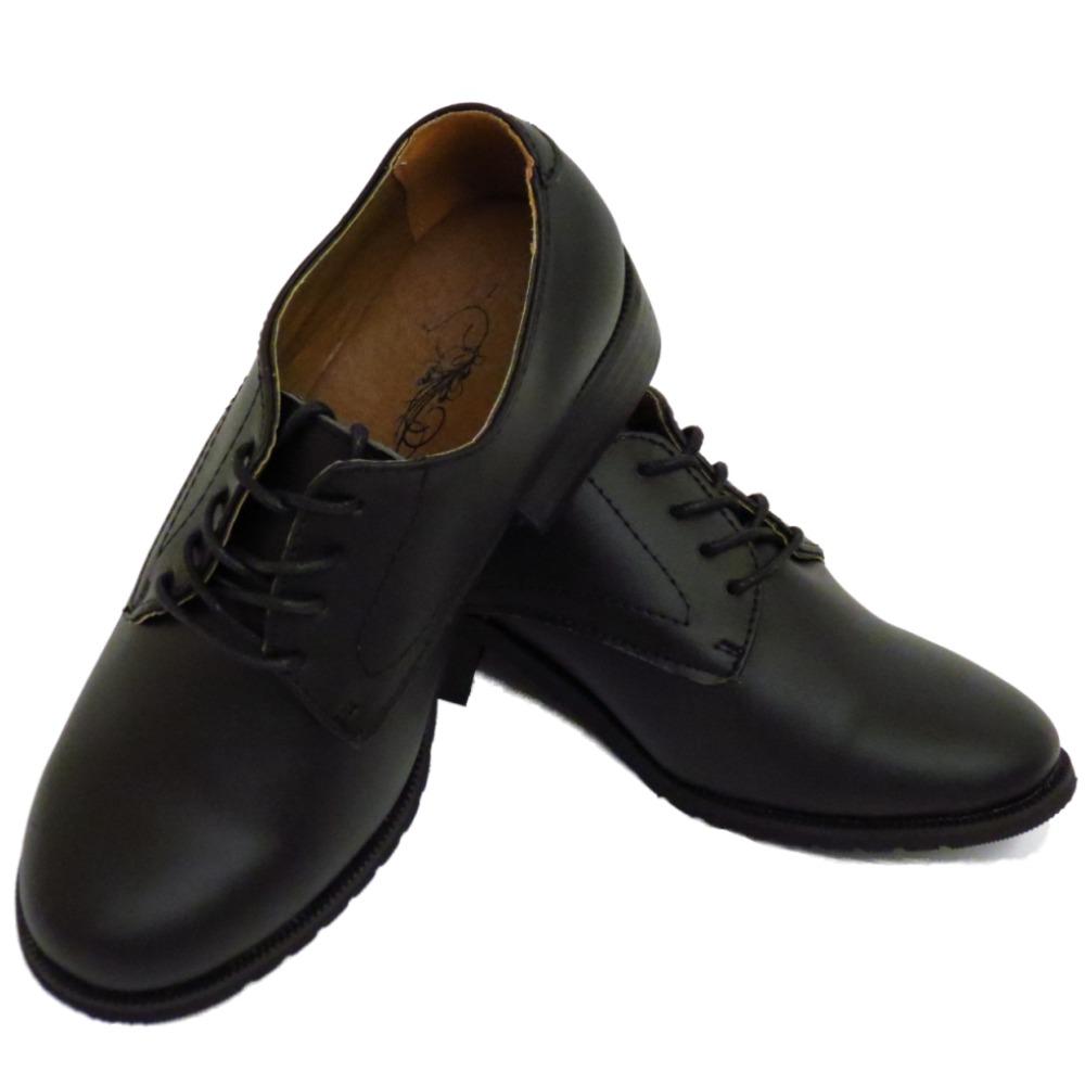 Size  Boys Oxford Shoes Black