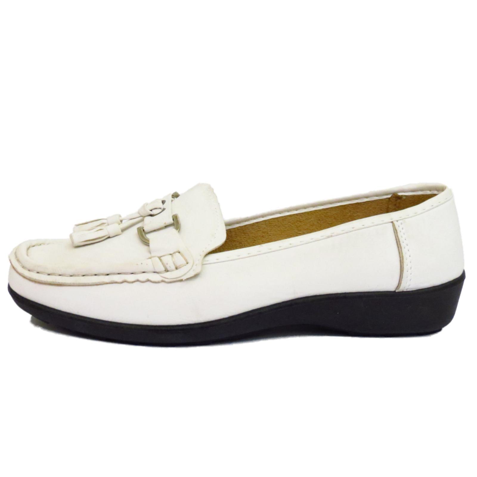 Womens Tassle Loafers Shoe Size