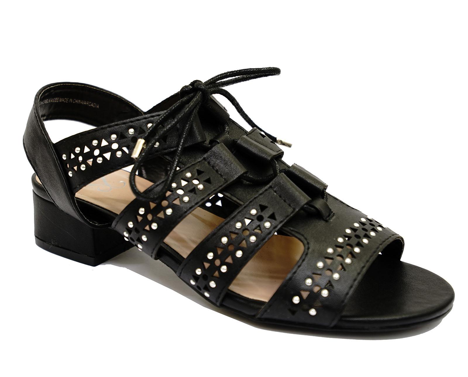 Black Wedge Shoes Eee