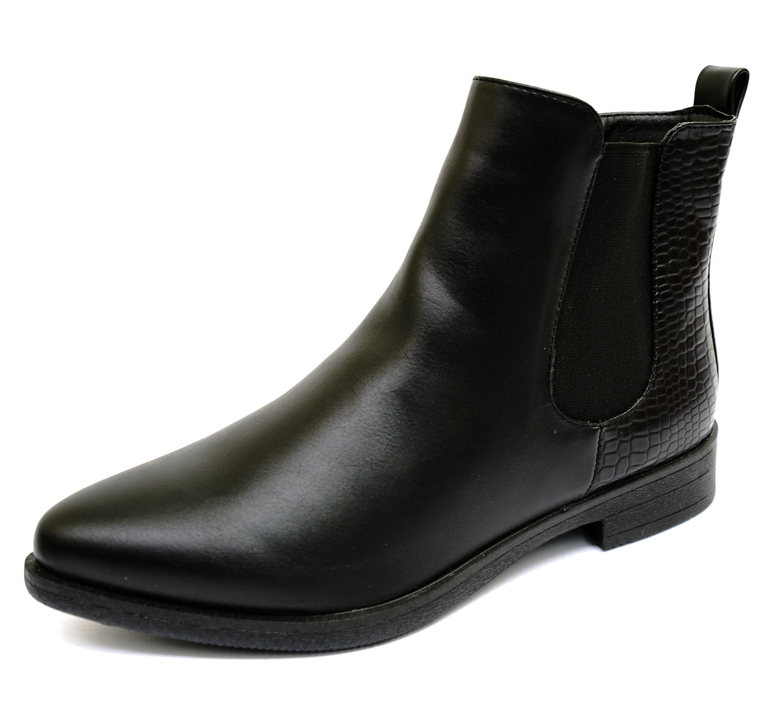 Popular Womens Vagabond Kenova Black Leather Casual Winter Ankle Chelsea Boots UK 3.5-8 | EBay