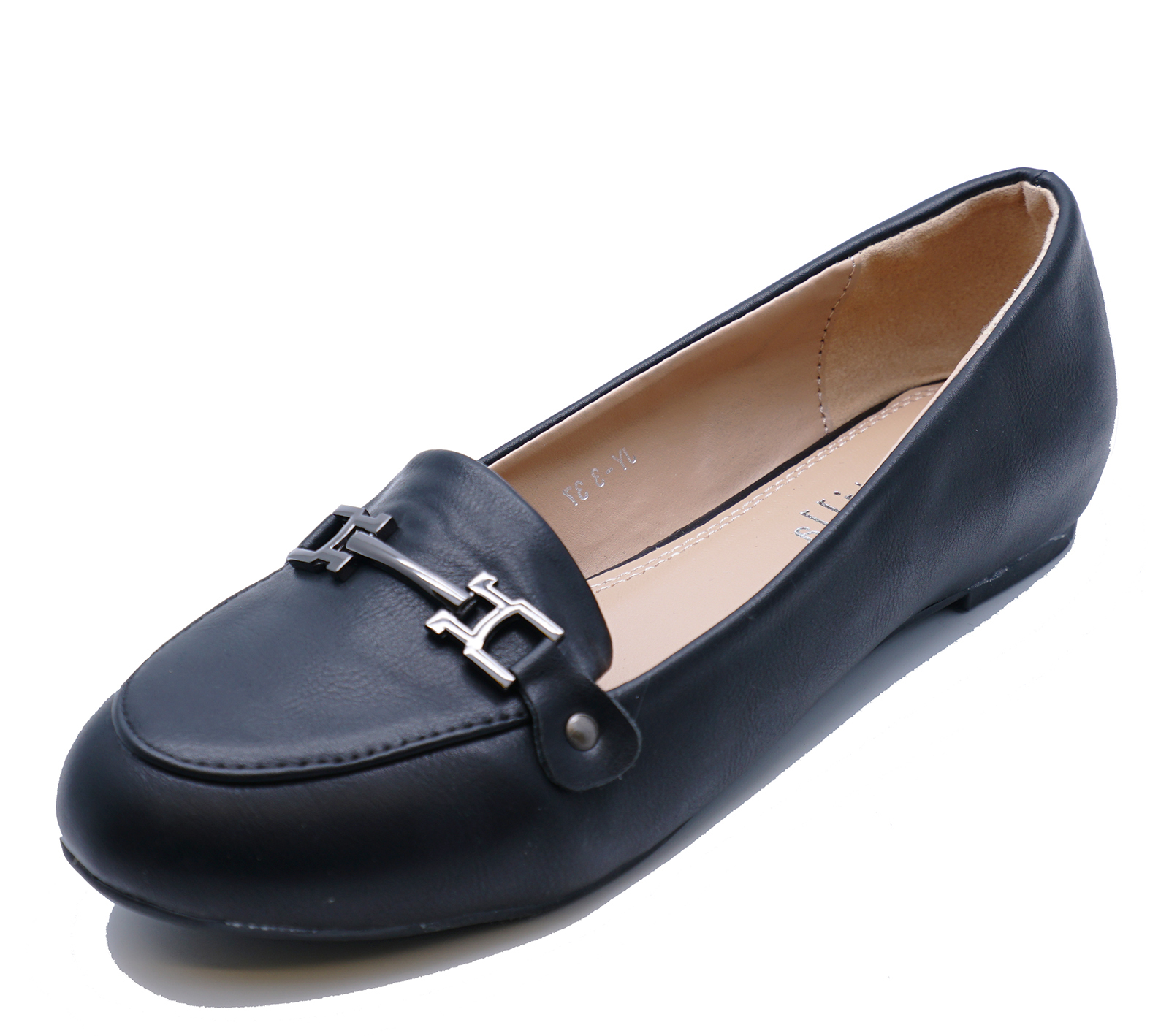 WOMENS FLAT SLIP-ON LOAFERS COMFY SMART CASUAL WORK MOCCASIN SHOES SIZES 3-8