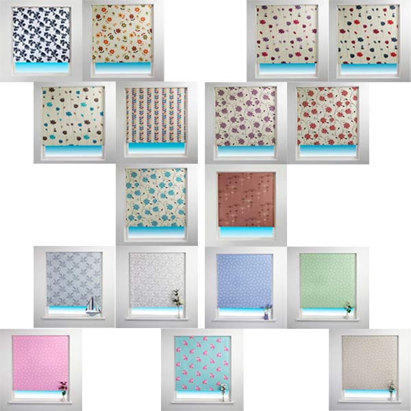 Awesome Image Is Loading Sunlover Patterned Thermal Blackout Roller Blinds  Blackout Blinds For Baby Room With Blinds For Baby Room