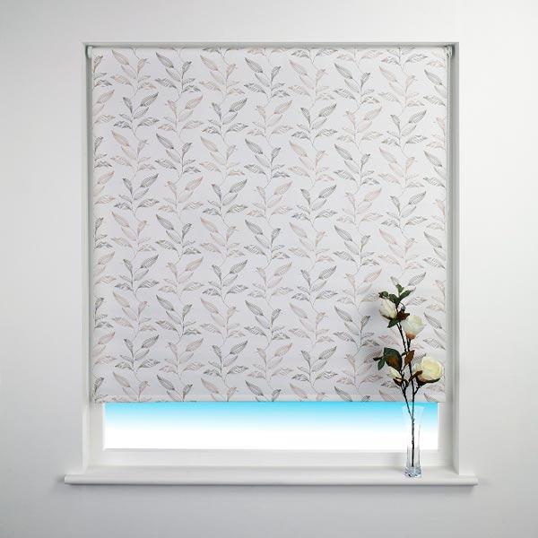 sunlover patterned thermal blackout roller blind ebay. Black Bedroom Furniture Sets. Home Design Ideas
