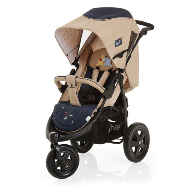 ... Disney Baby Viper 3 Wheel Jogger Trio Set Travel System, Pooh Charm