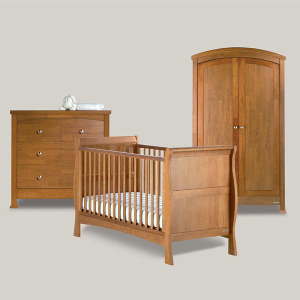 Izziwotnot Bailey 3 Piece Nursery Furniture Room Set