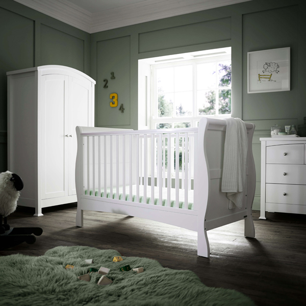 Nursery Furniture : Details about Izziwotnot Bailey 3 Piece Nursery Furniture Room Set