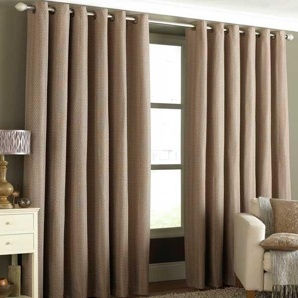Argos Grey Ring Top Curtains