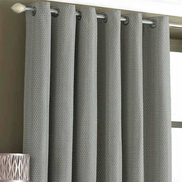 Curtains Ideas burgundy eyelet curtains : Tobago Woven Embellished Lined Eyelet Curtains | eBay
