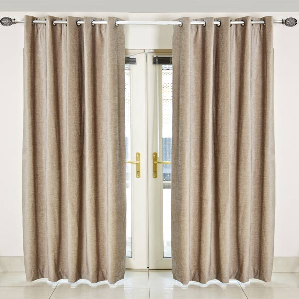 Awesome Scatter Box Chloe Chenille Lined Eyelet Curtains