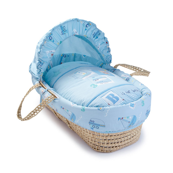 Clair De Lune Ahoy Moses Basket Bedding Set