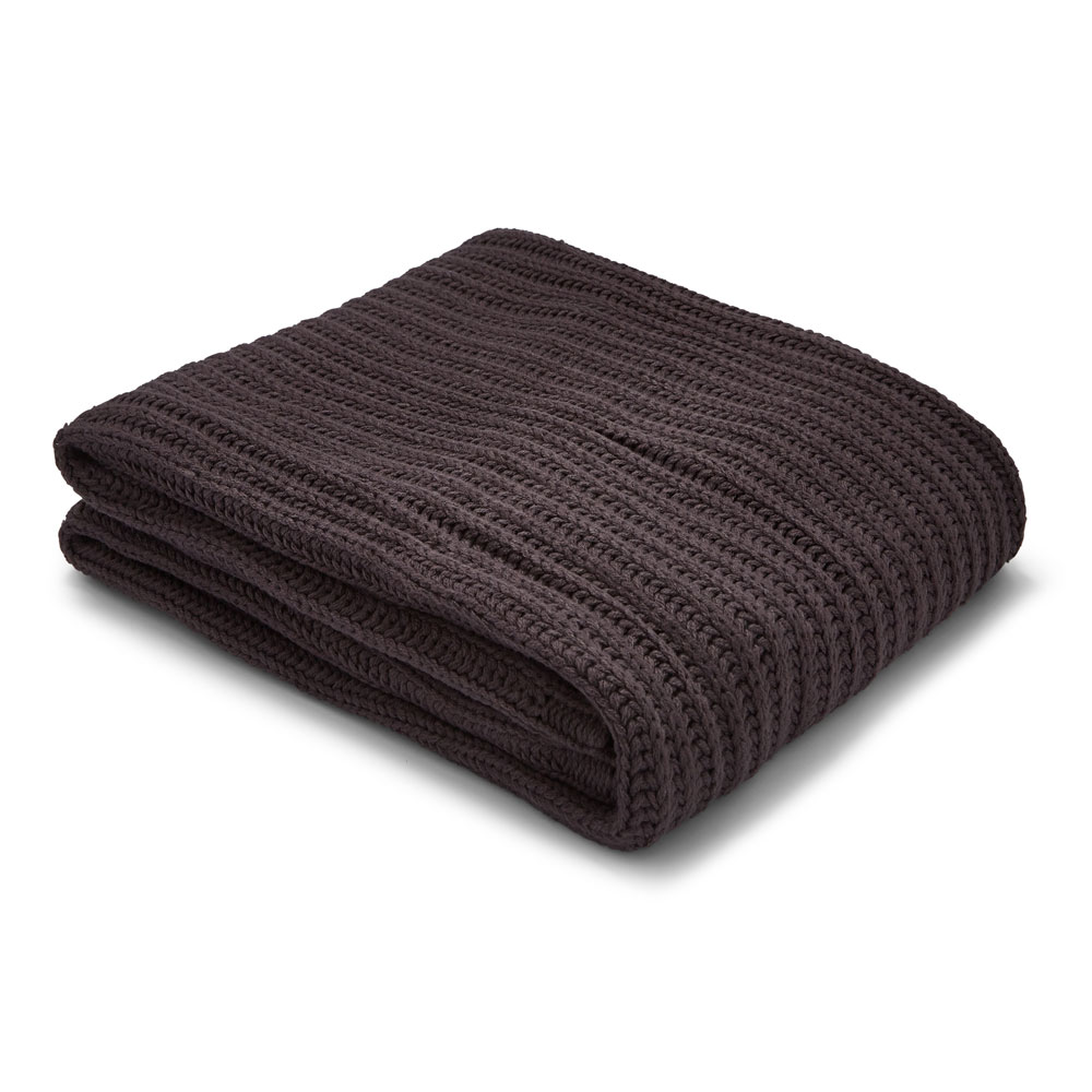 Catherine Lansfield Home Chunky Knit Throw
