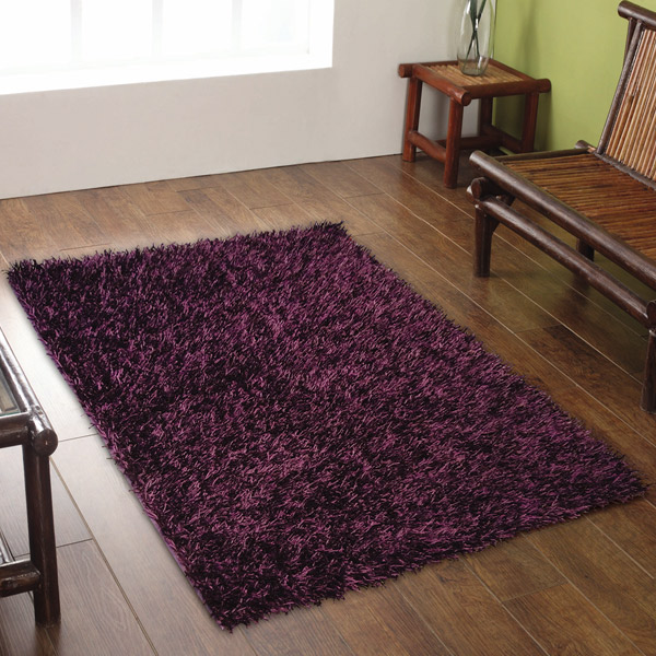Captivating Flair Rugs Spider Shaggy Rug