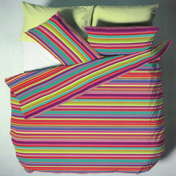 multi coloured striped duvet covers sweetgalas