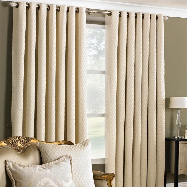 Cream Curtains 90 X 90 - Rooms