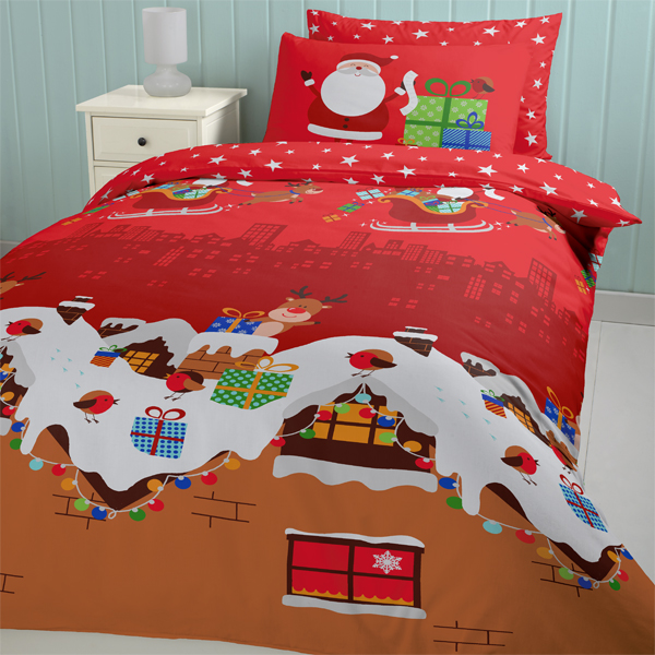 Christmas Bed Linen Sets Part - 38: Christmas Duvet Covers Double The Duvets