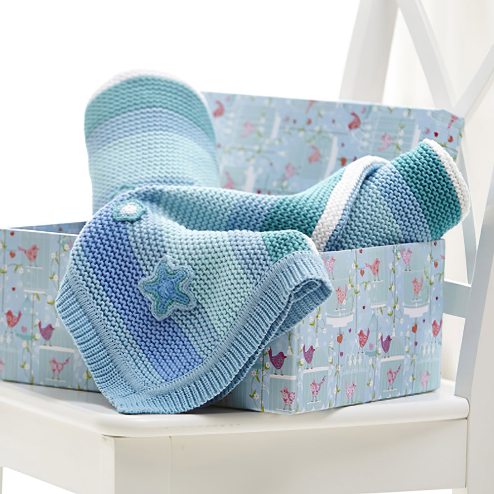 Clair-de-Lune-Pick-n-Mix-100-Cotton-Knitted-Blanket-Moses-Crib-Pram