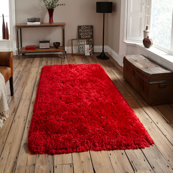 Think-Rugs-Polar-PL-95-Shaggy-Hand-Tufted-