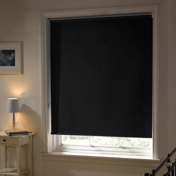 emma barclay thermal blackout roller blind ebay. Black Bedroom Furniture Sets. Home Design Ideas