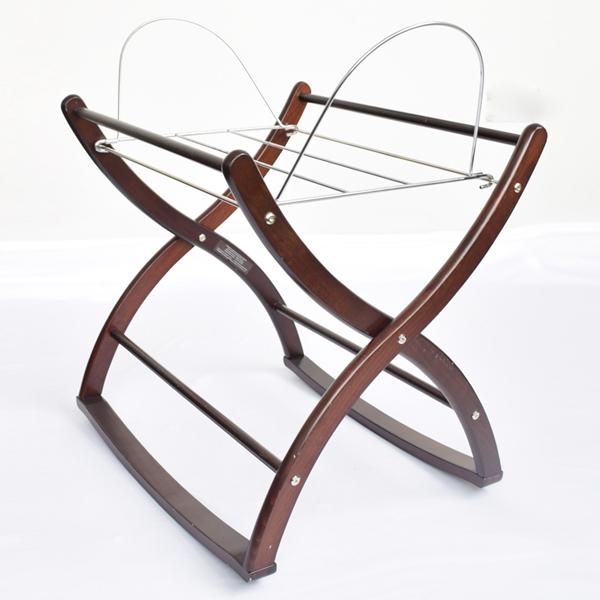 izziwotnot rocking moses basket stand ebay. Black Bedroom Furniture Sets. Home Design Ideas