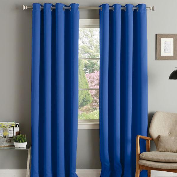 linens limited thermal blackout eyelet curtains ebay. Black Bedroom Furniture Sets. Home Design Ideas