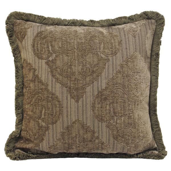 Paoletti Winchester Chenille Velours Tissé Housse de coussin argent 40 x 60 cm