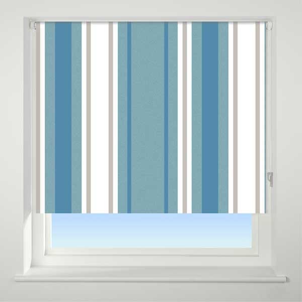 Universal Patterned Thermal Blackout Roller Blinds