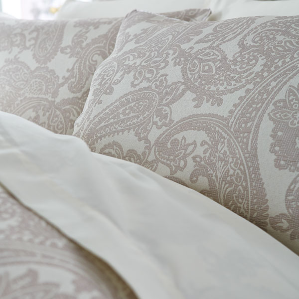 Catherine lansfield opulent jacquard duvet cover bedspread for Housse de couette ou couvre lit