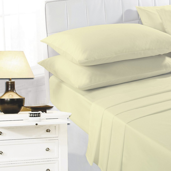 Night Zone Easy Care Polycotton Extra Deep Fitted Sheet
