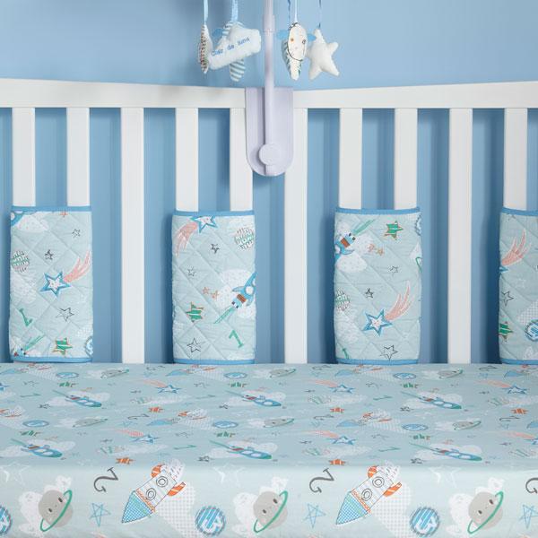 Clair de Lune Forty Winks Algodón Sábana Ajustable Azul 2 Pack