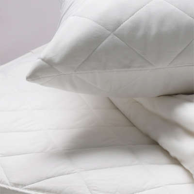 Polycotton Quilted Mattress Protector, Single Enlarged Preview