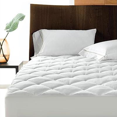 al se matelass e 2 personnes en polycoton bords extra hauts 122 x 190 cm ebay. Black Bedroom Furniture Sets. Home Design Ideas