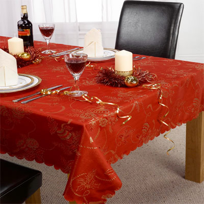 Angelica Christmas Tablecloth Ebay