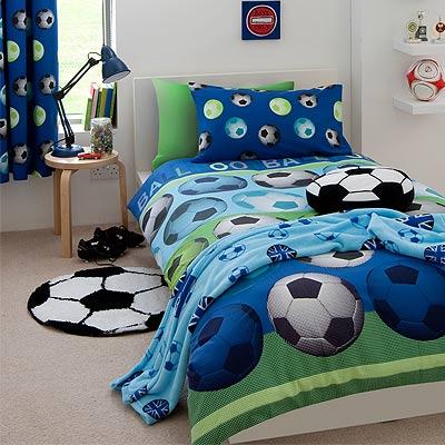 Catherine Lansfield Kids Football Duvet Cover Set Ebay