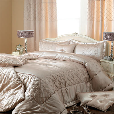 Elegance Bedroom Couture Cristal Duchess Satin Eyelet Lined ...